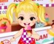 Baby Girl Loves Icecream