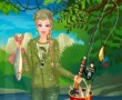 Barbie Fishing Princess Dressup