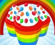 Cooking Rainbow Cupcake