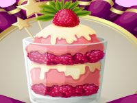 Cooking Raspberry Parfait