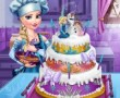 Elsas Wedding Cake