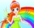 Rainbow Fairy Dressup