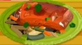 Sweet Spicy Glazzed Salmon