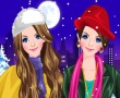 Twin Sisters Winter Fashion